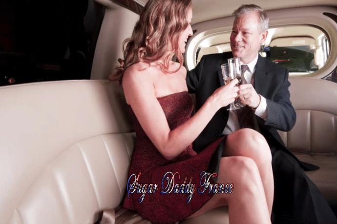 jeune homme et fille en limousine
