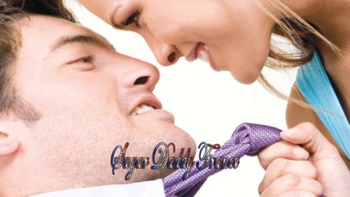 homme avec cravate et femme